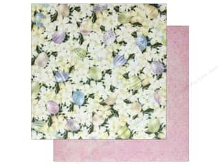 Bo Bunny Collection Cottontail Paper 12 in. x 12 in.  Cottontail