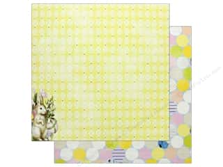 "scrapbooking & paper crafts: Bo Bunny Collection Cottontail Paper 12""x 12"" Fun (25 pieces)"