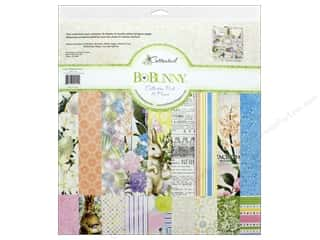 Bo Bunny Collection Cottontail Collection Pack 12 in.  x 12 in.