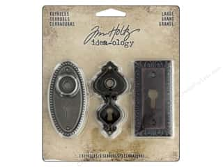 Tim Holtz Metallic Mixative: Tim Holtz Idea-ology Keyholes Large