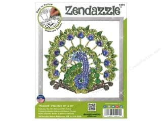Clearance: Design Works Zenbroidery Zendazzle Peacock