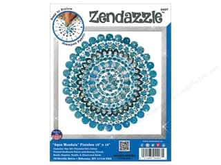 yarn & needlework: Design Works Kit Zendazzle Mandala Aqua