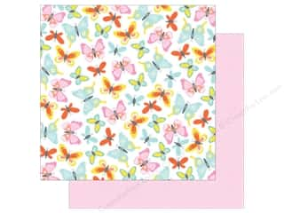 scrapbooking & paper crafts: American Crafts Collection Dear Lizzy Stay Colorful Paper 12 in. X 12 in. Farrah Forever (25 pieces)