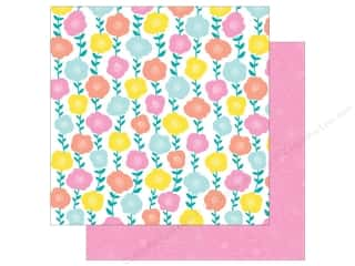American Crafts Collection Dear Lizzy Stay Colorful Paper 12 in. x 12 in. Funkadelic