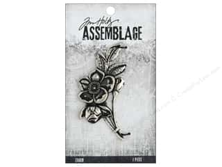 beading & jewelry making supplies: Tim Holtz Assemblage Charms Bouquet