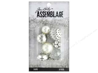 Tim Holtz Metallic Mixative: Tim Holtz Assemblage Charms Bauble Mix