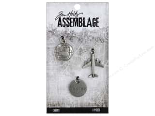 beading & jewelry making supplies: Tim Holtz Assemblage Charms Journey