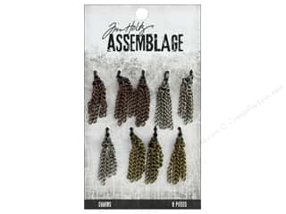 beading & jewelry making supplies: Tim Holtz Assemblage Charms Small Tassels