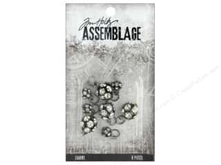 beading & jewelry making supplies: Tim Holtz Assemblage Charms Sparking Rondells