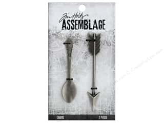beading & jewelry making supplies: Tim Holtz Assemblage Charms Spoon And Arrow
