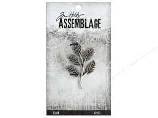 beading & jewelry making supplies: Tim Holtz Assemblage Charms Foliage