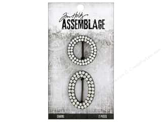 beading & jewelry making supplies: Tim Holtz Assemblage Charms Cuff Slides