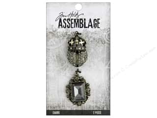 beads jewelry: Tim Holtz Assemblage Charms Regal