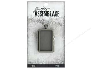 Clearance: Tim Holtz Assemblage Locket Rectangle