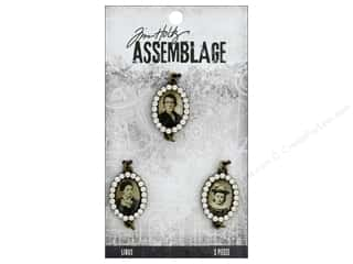 craft & hobbies: Tim Holtz Assemblage Links Jeweled Photo