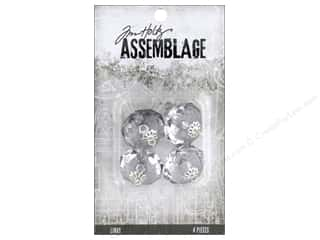 beading & jewelry making supplies: Tim Holtz Assemblage Links Crystals Large