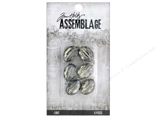 beading & jewelry making supplies: Tim Holtz Assemblage Links Mirror Smokey