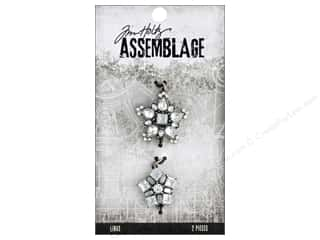 Tim Holtz Metallic Mixative: Tim Holtz Assemblage Links Lavish Stars