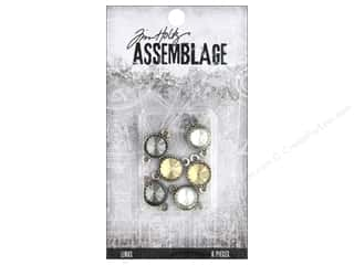 Clearance: Tim Holtz Assemblage Links Round Facated Crystal
