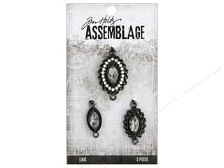 beading & jewelry making supplies: Tim Holtz Assemblage Link Fanciful Trio