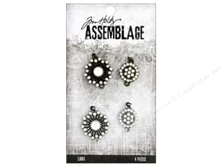 beading & jewelry making supplies: Tim Holtz Assemblage Links Pearl Sunburst