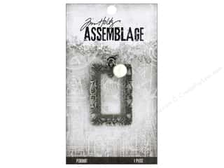 beading & jewelry making supplies: Tim Holtz Assemblage Pendant Ornate Frame