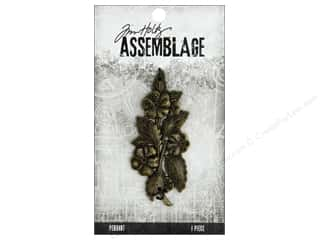 craft & hobbies: Tim Holtz Assemblage Pendant Bloom