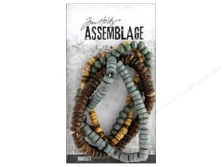craft & hobbies: Tim Holtz Assemblage Bracelet Natural Bead
