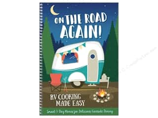 books & patterns: CQ Products On The Road Again: RV Cooking Made Easy Book