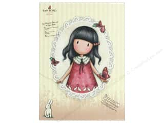 die cuts: Docrafts Santoro Gorjuss In The Garden A4 Paper Pack Die Cut