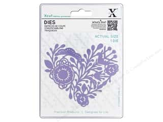Clearance: Docrafts Xcut Die Folk Heart