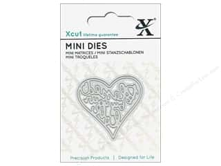 Clearance: Docrafts Xcut Die Mini Blessed By Your Love
