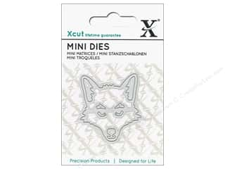 dies: Docrafts Xcut Die Mini Fox Head