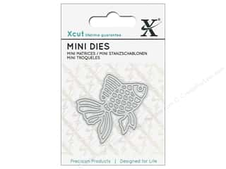 dies: Docrafts Xcut Die Mini Gold Fish