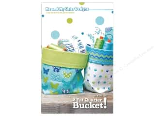 Me and My Sister Designs 2 Fat Quarter Bucket! Pattern