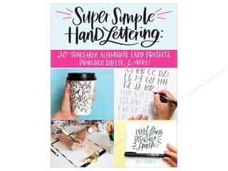 books & patterns: Design Originals Super Simple Hand Lettering Book