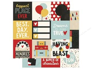 Simple Stories Collection Say Cheese III Paper 12 in. x 12 in. Element 4 in. x 4 in. (25 pieces)