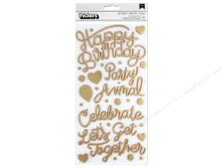 Pink Paislee Collection Confetti Wishes Thickers Phrase