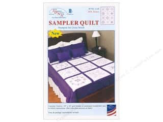 yarn & needlework: Jack Dempsey Sampler Quilt 18 in. XX Stars
