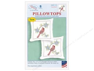yarn & needlework: Jack Dempsey Pillowtop Cardinal 2pc
