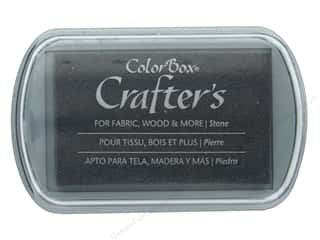 stamps: ColorBox Crafter's Ink Pad Full Size Stone