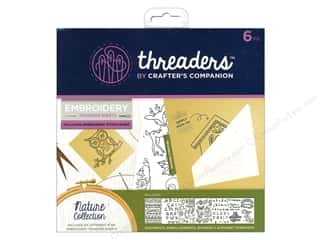 Crafter's Companion Threaders Embroidery Transfer Sheets Nature