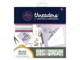 sewing & quilting: Crafter's Companion Threaders Embroidery Transfer Sheets Sewing