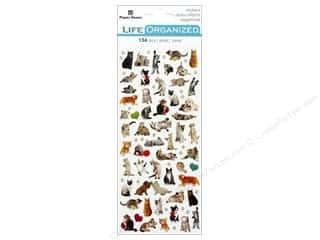 Paper House Collection Life Organized Sticker Micro Cat