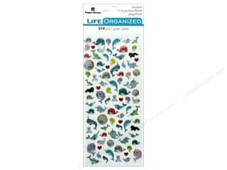 Paper House Collection Life Organized Sticker Micro Narwhal