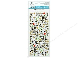 Paper House Collection Life Organized Sticker Micro Graduation