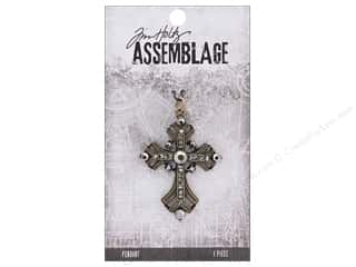 craft & hobbies: Tim Holtz Assemblage Pendant Vintage Cross