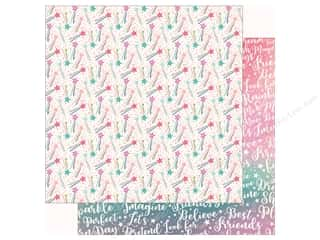 ombre: Echo Park Imagine That Girl Paper 12 in. x 12 in. Magic Wand (25 pieces)