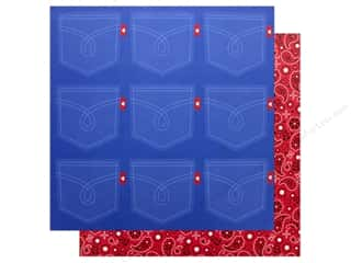 Doodlebug Collection Down On The Farm Paper 12 in. x 12 in. Bandana (25 pieces)
