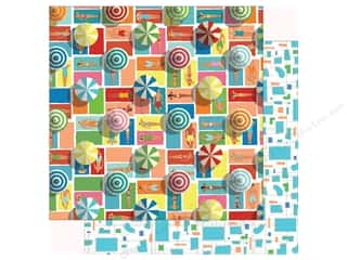 summer splash: Carta Bella Collection Summer Splash Paper 12 in. x 12 in. Fun In The Sun (25 pieces)